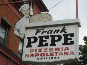Frank Pepe Sign