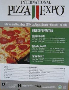 International Pizza Expo 2013