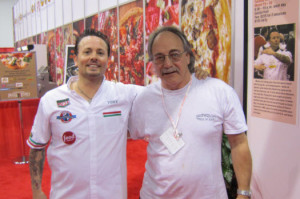 Tony Gemignani and Albert Grande          of Pizza Therapy