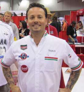 Tony Gemignani at Pizza Expo