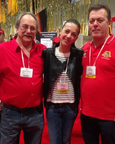 Alberto Grande, Giorgia, and Roberto Caporuscio