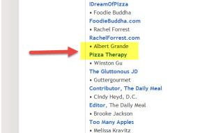 Albert Grande, Pizza Ambassador