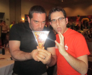 Mark Bello, Pizza A Casa and Scott Wiener, Scott's Pizza Tours