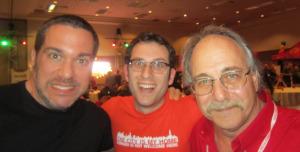 Mark Bello, Scott Wiener and Albert Grande  Pizza Expo