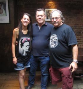 Giorgia, Albert Grande and Roberto Caporuscio