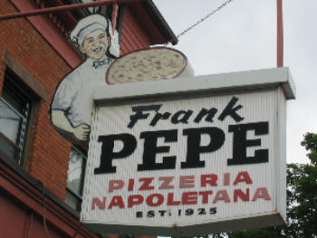 Frank Pepe Making Pizza