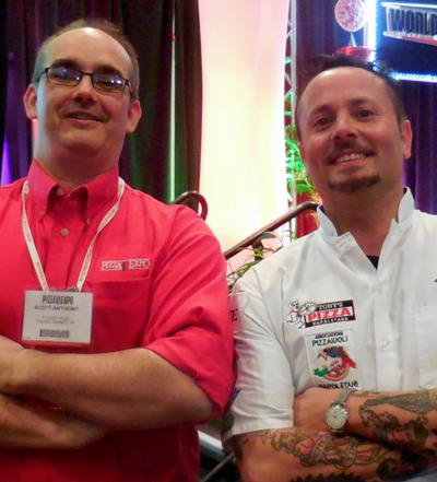 Scott Anthony and Tony Gemignani