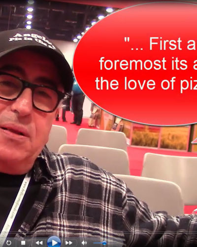 """First and foremost its about the love of pizza..."""