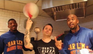 Tony Gemignani and the Harlem Globetrotters