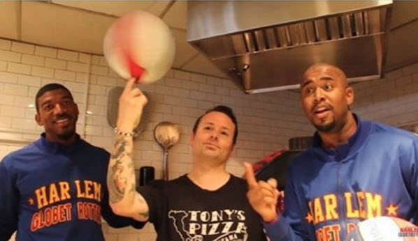 The Harlem Globetrotters Visit Tony Gemignani