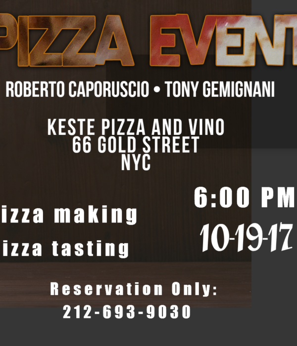 Roberto Caporuscio and Tony Gemignani Make Pizza